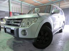 パジェロロング エクシード ナビ ロックフォードサウンド 4WD