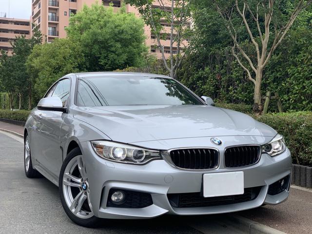 BMW ワンオーナー 420i クーペ Mスポーツ ディーラー管理車
