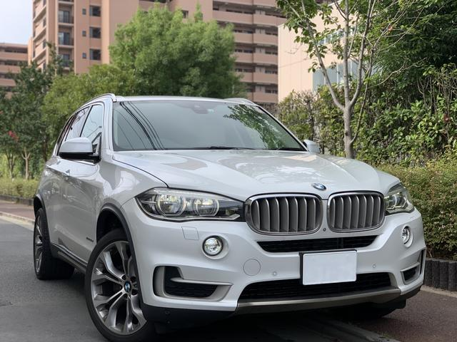 BMW X5 xDrive 35d xライン 7人乗り 純正リアエンターテイメント イージークロージャー インテリジェントセーフティー トップビューカメラ フロントカメラ LEDヘッドライト 20インチAW フルセグ 電動パワーゲート フルセグ