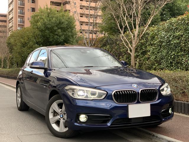 BMW 1シリーズ 118d スポーツ 後期型 LCI アクティブクルーズコントロール LEDヘッドライト アイドリングストップ ミュージックサーバー Bluetooth DVD 特別塗装色 レーンディパーチャーウォーニング ETC