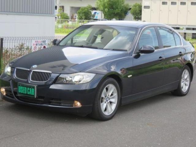 BMW 3シリーズ 325i iDrive 純正ETC キーレス スマートキー サンルーフ 電動格納ミラー 盗難防止システム オートライト パワーシート HID エアコン パワーステアリング パワーウィンドウ