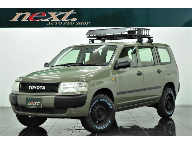トヨタ DXコンフォートパッケージ 4WD メモリーナビ Bluetooth リフトアップ ブラックアウトホイール 新品マッドタイヤ 新品ルーフラック アウトドアカスタム