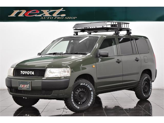 トヨタ DX 5速MT 4WD 社外メモリーナビ 地デジTV フルセグ ETC  Bluetooth リフトアップ 新品ルーフラック ブラックアウトホイール マッドタイヤ アウトドアカスタム