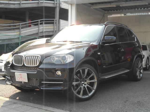 BMW 4.8i 左ハンドル 黒革シート サンルーフ BBS22AW