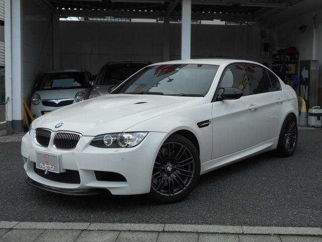 BMW M3 M3 M3セダン 黒革シート 前後スポイラー 純正ナビ バックカメラ 後席ヘッドレストモニター フルセグTV 整備記録簿