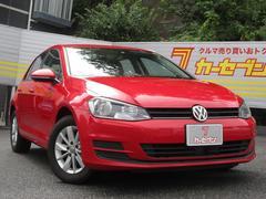 VW ゴルフTSIトレンドラインブルーモーションテクノロジー 1オナ禁煙