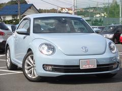 VW ザ・ビートルデザインレザーパッケージ ワンオーナー 禁煙車 黒革シート