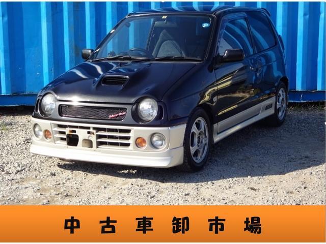 スズキ RS/Z ターボ 社外キーレス ETC ハーフエアロ