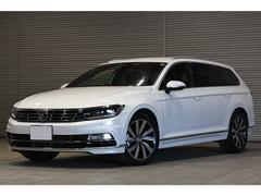 VW パサートヴァリアントTSI Rライン ACC ナパレザーシート ワンオーナー