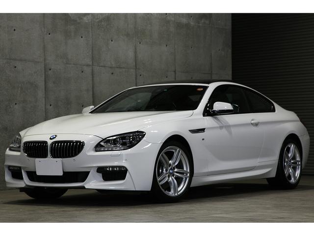 BMW 640iクーペ Mスポーツ サンルーフ 19インチAW 黒革