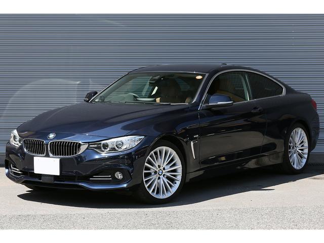 BMW 435iクーペ ラグジュアリー 茶革 ACC 19AW