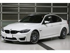 BMWM3セダン コンペティション 鍛造20AW 軽量赤革シート