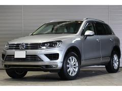 VW トゥアレグV6アップグレードPKG 2016yモデル ベージュレザー
