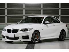 BMWM235iクーペ 6MT レザーPKG 赤革 1オーナー