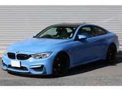 BMWM4クーペ 6MT 右H シルバーストーンレザー 新車保証