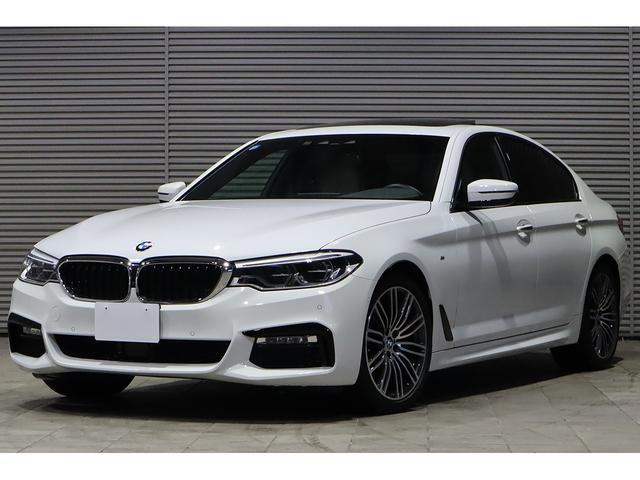 BMW 530i Mスポーツ コンフォートP 白革 SR 19AW