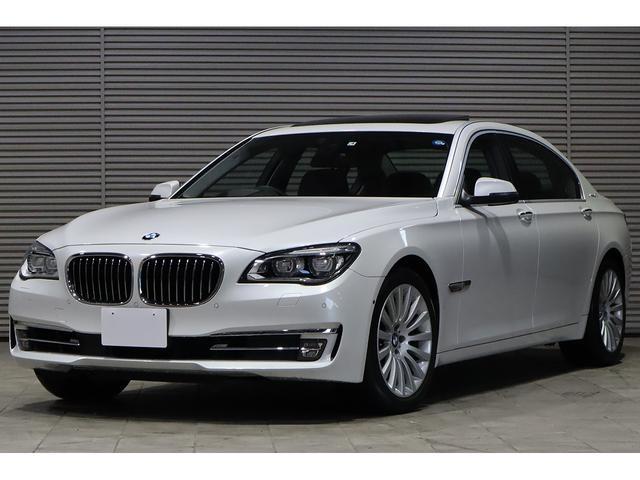 BMW アクティブハイブリッド7L 黒革 リアエンタメ SR 1オナ