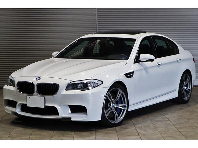 BMW M5 MDCT 黒革 HUD SR OP20AW 1オーナー