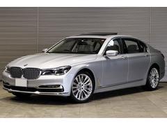 BMW750Li デザインピュアエクセレンス リヤエンタメ
