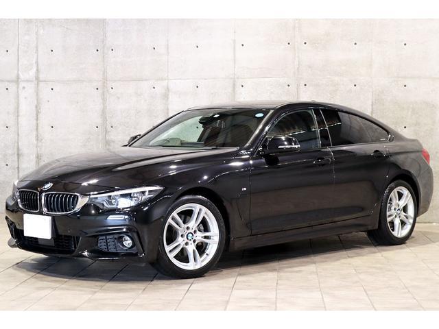 BMW 4シリーズ 420iグランクーペ Mスポーツ 黒革 トップビュー 地デジ