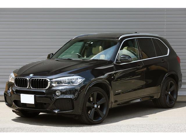 BMW xDrive 35d Mスポーツ セレクトPKG LEDヘッドライト ACC ベージュレザー パノラマサンルーフ BMW Individual アルミニウムライン  純正ナビ フルセグ トップビュー TVキャンセラー
