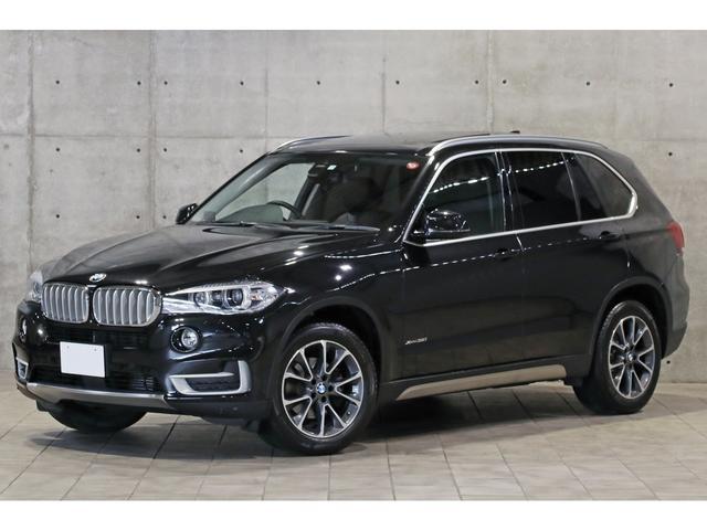 BMW X5 xDrive 35i xライン セレクトPKG オプションウッドトリム パノラマサンルーフ 黒革 前後席シートヒーター ソフトクローズドア ドライビングアシストプラス アクティブクルーズ トップビュー 専用エクステリア&19AW