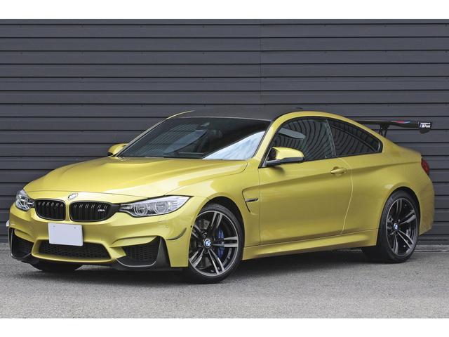 BMW M4 M4クーペ オリジナルレザーインテリア Mパフォーマンスステアリング カーボントリム パーキングサポートPKG アダプティブMサスペンション ボルテックスGTウイング アダプティブLEDライト HUD