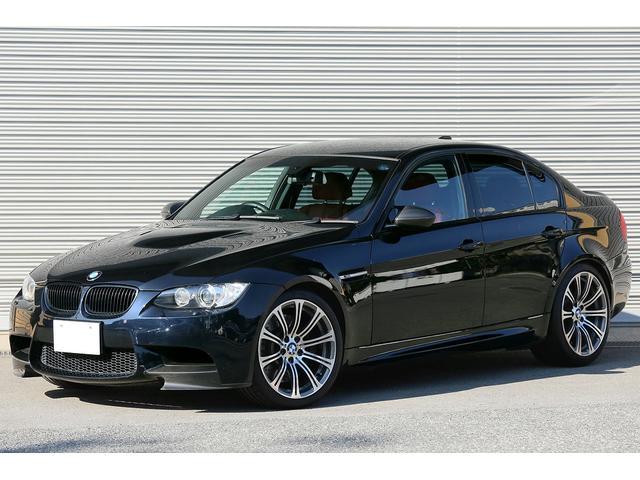 BMW M3 Mドライブパッケージ オプション19インチAW 赤革シート 後期iDriveナビ 地デジTV バックカメラ カーボンフロントスプリッター カーボンミラーカバー ブラックキドニーグリル シートヒーター