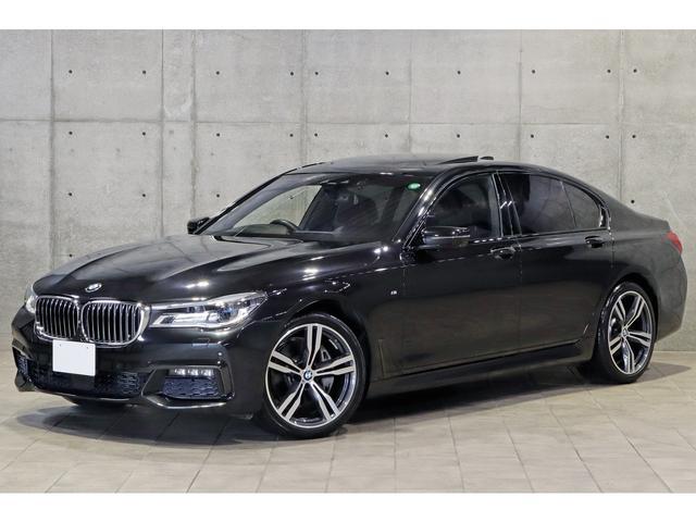 BMW 740d xDrive Mスポーツ 茶革 ACC ガラスサンルーフ ヘッドアップディスプレイ 後期iDriveナビ harman/kardon ジェスチャーコントロール 3Dビューカメラ シートベンチレーション レーザーライト 20AW