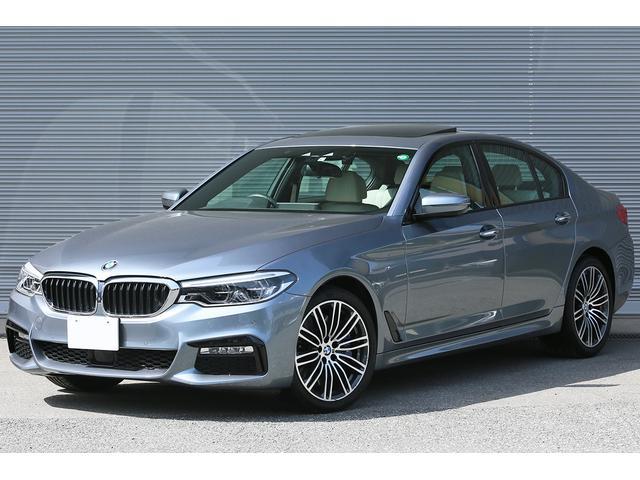 BMW 5シリーズ 540i Mスポーツ ハイラインパッケージ 1オーナー コンフォート&ハイラインP ガラスサンルーフ シートヒーター ベンチレーション ドライビングアシストプラス アクティブクルーズ 19インチAW アダプティブLEDヘッドライト