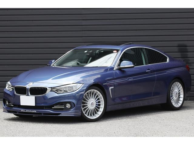 BMWアルピナ ビターボ クーペ サンルーフ ドライビングアシスト ALPINAチューン直6ディーゼル アクラポビッチマフラー 19インチAW アダプティブLEDヘッドライト ダコタレザー シートヒーター Bカメラ 地デジチューナー