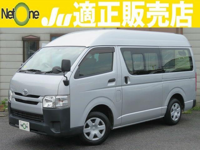 トヨタ ロングジャストローDX4型6ATスライド窓ビルトETCAUX