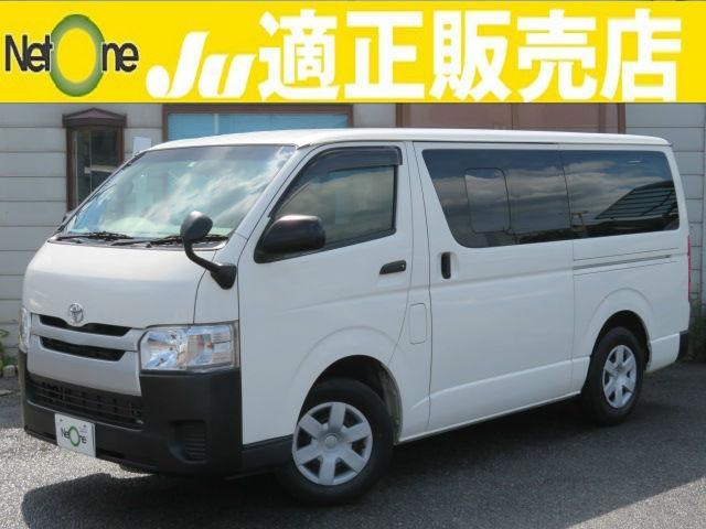 トヨタ ロングDX 4型SDナビTVBモニ電格ミラー後席冷房1オナ