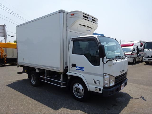 いすゞ 冷凍車 低温-30℃設定 セミロング 庫内2室構造 左ドア