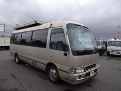 コースターロングEXターボ 26人乗り 観光バス リアエアサス