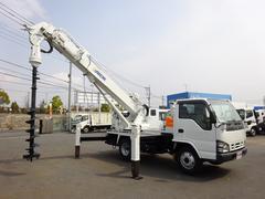 エルフトラック穴掘建柱車 アイチコーポレーション製 D50A