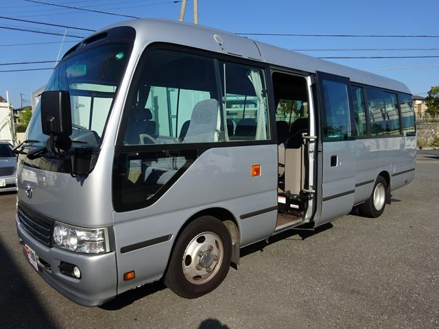 トヨタ 観光バス マイクロバス 29人乗り GX ロング オートマ