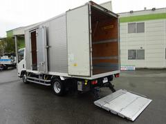 エルフトラック2t パワーゲート付アルミバン 標準幅 ロング 左ドア