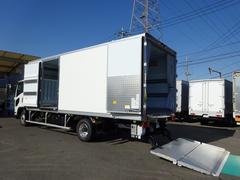 フォワード冷凍車 低温−30℃設定 格納PG付 左片開きドア ワイド幅