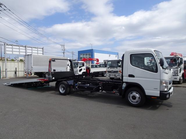 三菱ふそう 積載車 車載車 ユニックキャリア Neo5 超ロング 3t積
