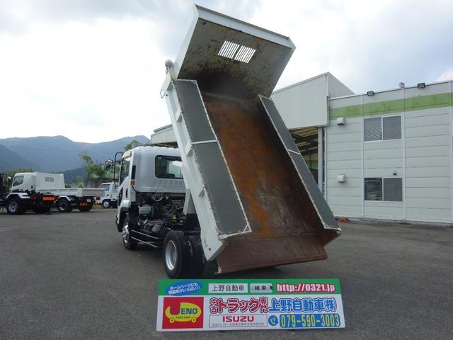 いすゞ Lゲートダンプ 電動コボレーン付 標準幅 3.6t積み