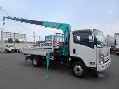 エルフトラック4WD クレーン付 6段ブーム ワイド ロング 2.9t積み