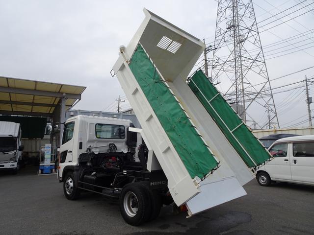 日野 Lゲートダンプ 極東 標準幅 3.6t積み 電動コボレーン付