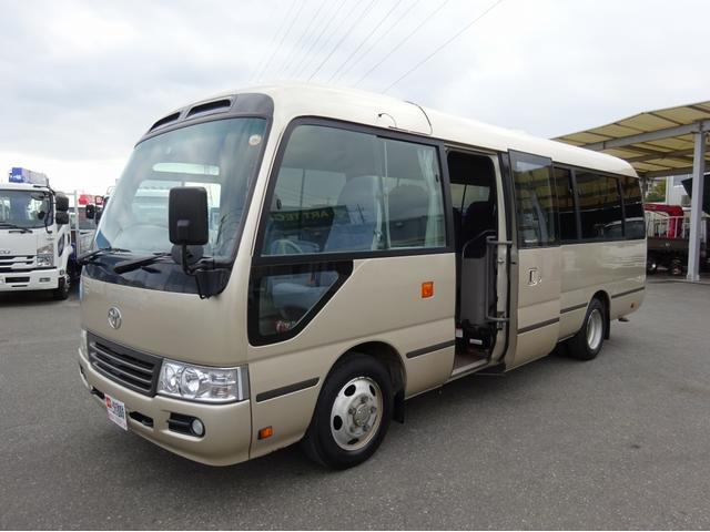 トヨタ 観光バス 29人乗り 総輪エアサス EXロング オートマ車