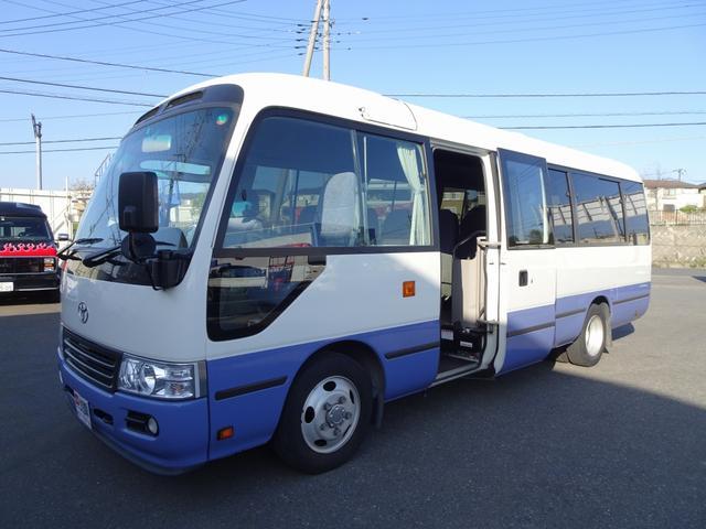トヨタ マイクロバス ロングGXターボ 29人乗り リヤ観音式扉