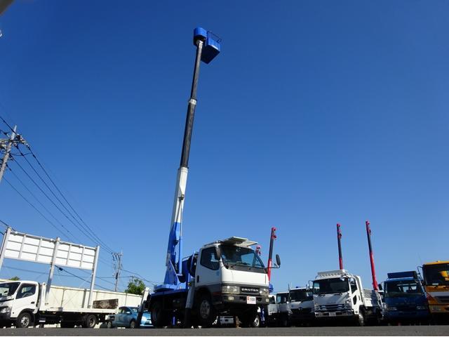 三菱ふそう 高所作業車 アイチ 11.9m SS12A スカイマスター