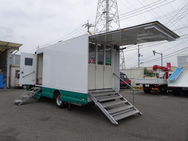 日野 元移動銀行窓口車 パートタイム4WD ワイド幅 ロング