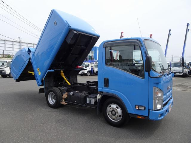 いすゞ 回転ダンプ式パッカー 5.1m3 フジマイティー 標準幅