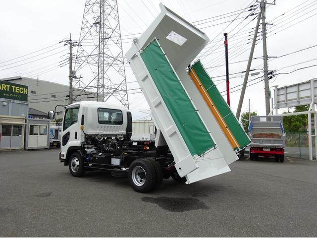 いすゞ Lゲートダンプ Fゲート 電動コボレーン 3.6t積み