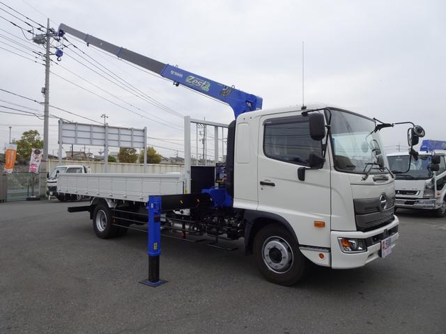 日野 レンジャー 4段クレーン付 タダノ 増トン 240馬力 7.6t積み